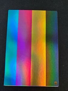1st Edition Foil Yu Gi Oh Test Print Holographic Card Gold Stamp