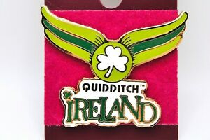 Universal Studios Harry Potter Quidditch Ireland World Cup Pin New $17.95