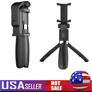 Extendable Foldable Selfie Stick Tripod Tabletop Stand with Remote Shutter K4G6 $12.95