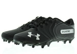 Under Armour Football Cleats Mens Nitro Low Molded Sports Shoes 3000182 $29.99