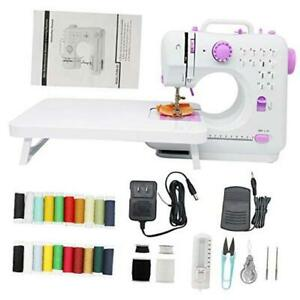 Portable Sewing Machines 12 Stitches 2 Speeds with Foot PedalEasy Sewing $112.23