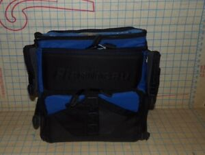 Large Flambeau Soft Tackle Bag Fishing Box W 5 Utility Bins Holds 8 Containers