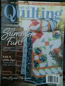 Fons amp; Porters LOVE OF QUILTING June 2021 quot;Summer Funquot; NEW M 5 $7.90