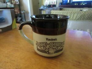 Vintage 1989 Hardees Rise and Shine Homemade Biscuits Mug $5.00