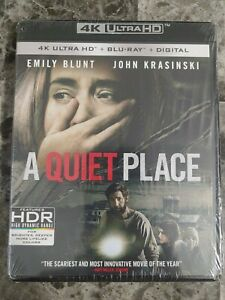 a quiet place 4kBlu ray No Digital $16.99