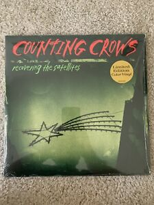 NEW COUNTING CROWS Recovering the Satellites GREEN VINYL 2LP LIMITED ED OOP $85.00