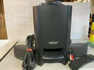 Bose CineMate Digital Home Theater Speaker System Complete w Remote TESTED $105.00