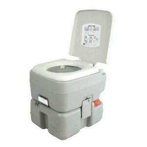 SereneLife Portable Toilet Potty Seat with Piston Pump Flush Cover and 5.3... $104.47