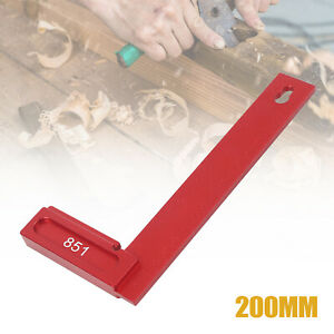 90° Positioning Right Angle Ruler Woodworking Tools 0 200mm Carpenter Tool USA $27.00