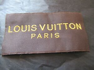 Louis Vuitton 1 Clothing Designer Tag LABEL Replacement Sewing Accessories lot 1 $14.00