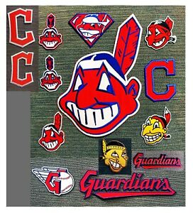 Baseball Cleveland Indians MLB Sport Patches Logos Iron onSewing on Fabrics $2.89