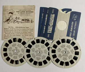 View Master THE LONE RANGER B465 3 Reel Set Booklet 3 No Sleeve $14.00