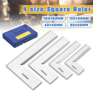 Machinist Edge Square Rulers 90° Right Angle Protractor Engineer Measuring Tools C $17.83