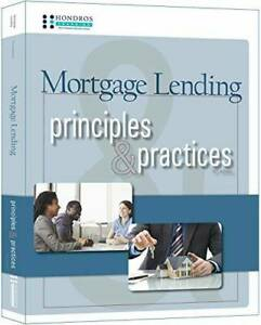 Mortgage Lending Principles Practices. 10th ed Perfect Paperback GOOD $69.89