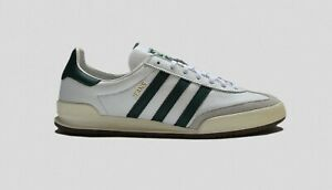 ADIDAS JEANS MKII WHITE GREEN LEATHER SIZES 9 9.5 10 11 ORIGINALS $92.19