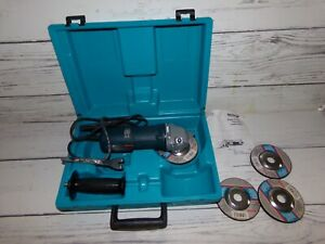 BOSCH Angle Disc Grinder Model 1347A w Hard Case and Accessories $46.50