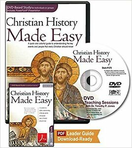 Christian History Made Easy Leader Pack for Group or Individual study 12 ses...