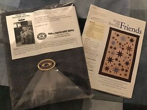 """Fons and Porter """"STARS ARE DAYTIME FRIENDS"""" Quilt Kit $84.99"""