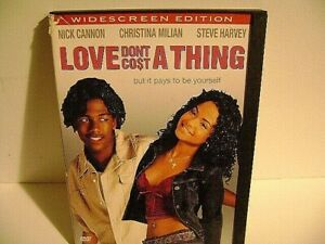 Love Dont Cost a Thing DVD 2004 Widescreen Vg $2.48
