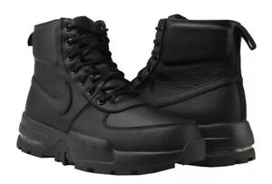NIKE AIR MAX GOATERRA 2.0 BOOTS MENS 916816 001 BLACK LEATHER SIZES SOLD OUT $170.00