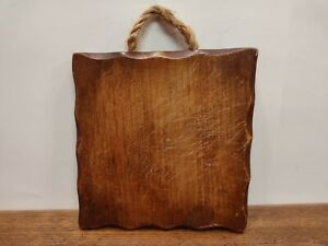 Vintage 7quot; Square Cutting Board $10.00