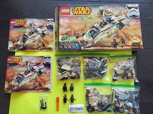 LEGO Star Wars Rebels Wookie Gunship 75084 100% Complete with all figures 2015