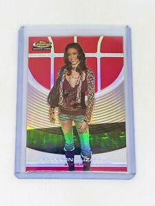 2005 06 Topps Finest Red Refractor #102 Shannon Elizabeth 169 Rookie Card $17.99
