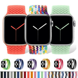For Apple Watch Braided Solo Loop Band Strap 40 42 44mm iWatch Series 6 5 4 3 SE $7.59
