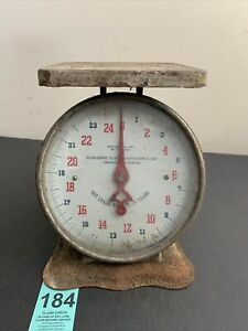 Antique Scale Patented Oct 29 1912 June 17 1913 Weight 25 Lbs $17.00
