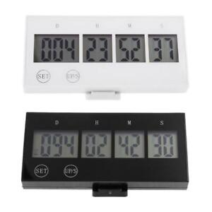 Digital Timer Countdown 999 Days Clock Touch Key LCD Large Screen Event Reminder
