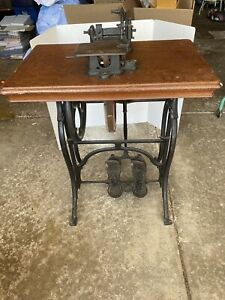 Antique Sewing Machine Early WHEELER amp; WILSON MFG. CO. $425.00