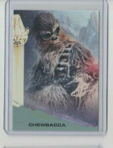 Topps Solo: A Star Wars Story Silver Trading Card #81 Chewbacca $2.40