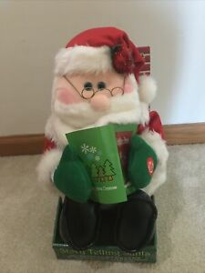 Animated Story Telling Santa Reading The Night Before Christmas NEW $49.99