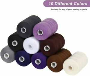10 Colors Sewing Threads SetCotton Sewing Thread for Sewing Machine DIY Sewing $8.90