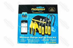 Fieldpiece JL3KH6 Job Link Charge amp; Air Kit with Probes Pipe Clamps $475.00