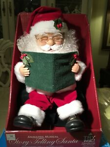 Story Telling Animated Musical Santa Eyes Open and Close Mouth Opens And Closes $49.99