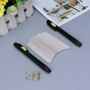 1 Set Tailors Chalk Pen Pencil Dressmakers Invisible Marking Sewing Fabric Cloth $6.07