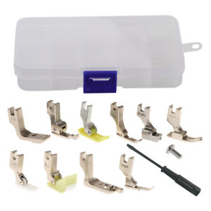 13Pcs set Sewing Feet Presser Foot Set Spare Parts Accessories for Singer Sewing $20.03