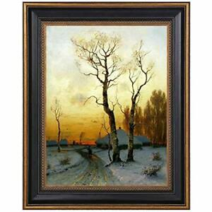 11 X 14 Black Ornate Gold Poster Picture Frame Wall Mount High Definition Glass $23.99