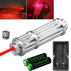 650nm Red Laser Pointer Pen Power Visible Beam Light 1 W Lazer Charger Battery $23.88