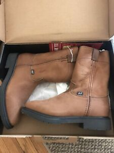 justin work boots 11.5