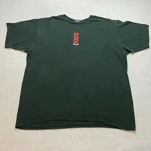 Vintage Polo Sport T Shirt Size 2XL Black P2K Spell Out Short Sleeve Made In Usa $24.97