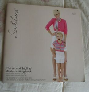 SUBLIME THE SECOND SUBLIME DOUBLE KNITTING BOOK 636 12 PATTERNS $2.50