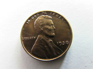 1938 Lincoln Wheat Cent Philadelphia Mint Copper Penny Coin MS UNC RB Red Brown