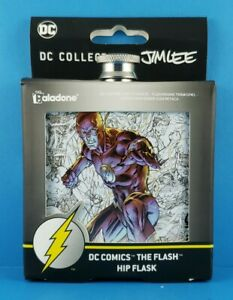 DC Collection by Jim Lee DC Comics The Flash Hip Flask
