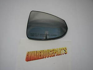 2011 2015 CHEVY VOLT PASSENGER SIDE MIRROR GLASS WITH WRITING NEW GM # 20889222 $45.67