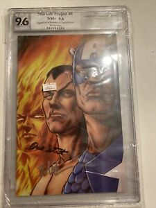PGX CERTIFIED NM 9.6 MARVELS PROJECT #1 ED BRUBAKER DAVE STEWART AUTO $84.99