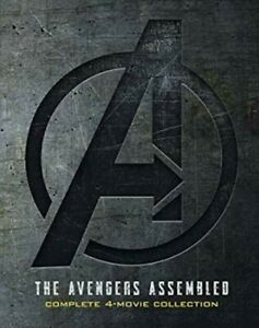 Marvel Avengers 1 4 1 2 3 4 DVD Complete 4 Movie Collection Endgame Included $12.49