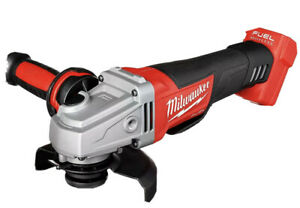 New Milwaukee 2880 20 18V FUEL 4 1 2quot; 5quot; Angle Grinder Paddle Switch TOOL ONLY $128.88