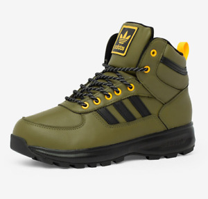 Authentic Adidas Chasker Boots Men#x27;s Winter Basketball Top Ten Shoe Olive New .